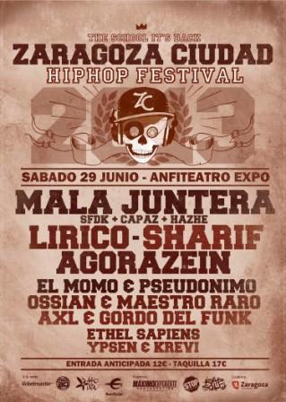 Festival Hip Hop Zaragoza Ciudad 2013