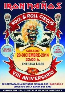 Iron Maños  @ ROCK & ROLL CIRCUS | Zaragoza | Aragón | España