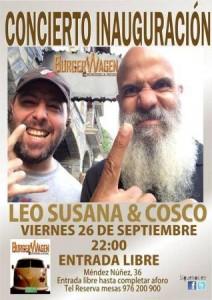 LEO SUSANA & COSCO @ BURGER WAGEN | Zaragoza | Aragón | España