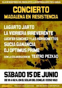 Madalena en Resistencia Zgz conciertos
