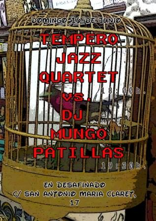 Tempero jazz dj mungo patillas
