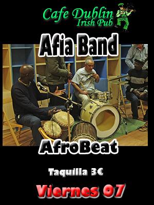 Concierto Afia Band en Cafe Dublín