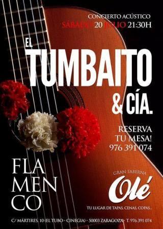 Concierto Tumbaíto y Cía Ole Tubo Zaragoza
