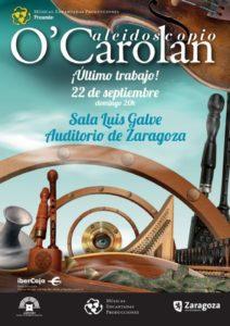 O'CAROLAN @ SALA LUIS GALVE, AUDITORIO DE ZARAGOZA | Calatayud | Aragón | España