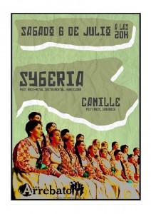 SYBERIA + CAMILLE Zgz Conciertos