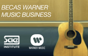Becas Warner Music Business zgz cocniertos