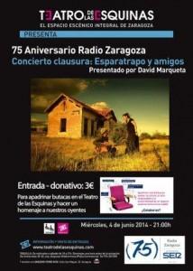 ESPARATRAPO @ TEATRO DE LAS ESQUINAS | Zaragoza | Aragón | España