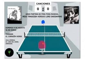 Ping Pong Musical zgz conciertos