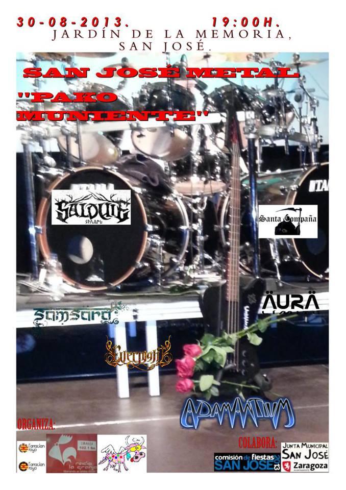 San Jose Metal zgz conciertos