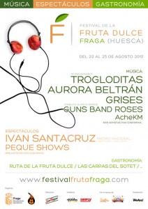 festival de la fruta dulce zgz conciertos