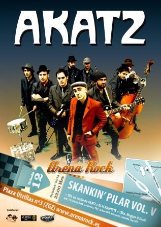 Concierto Akatz ARENA ROCK Zaragoza