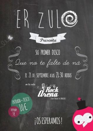 Concierto Er Zulo Arena Rock Zaragoza