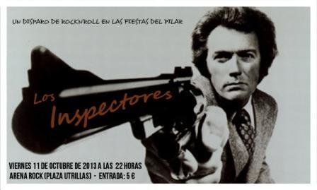 Concierto Los Inspectores ARENA ROCK Zaragoza