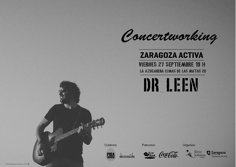 Dr Leen zgz conciertos