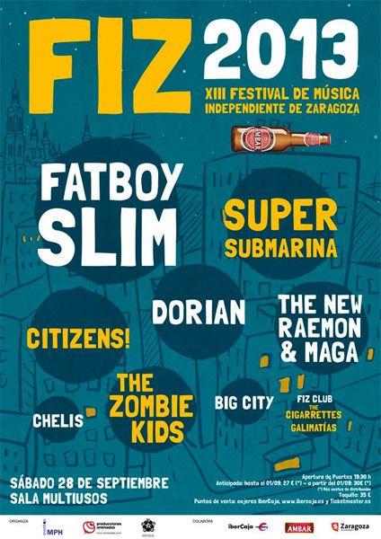 FIZ 2013 zgz conciertos