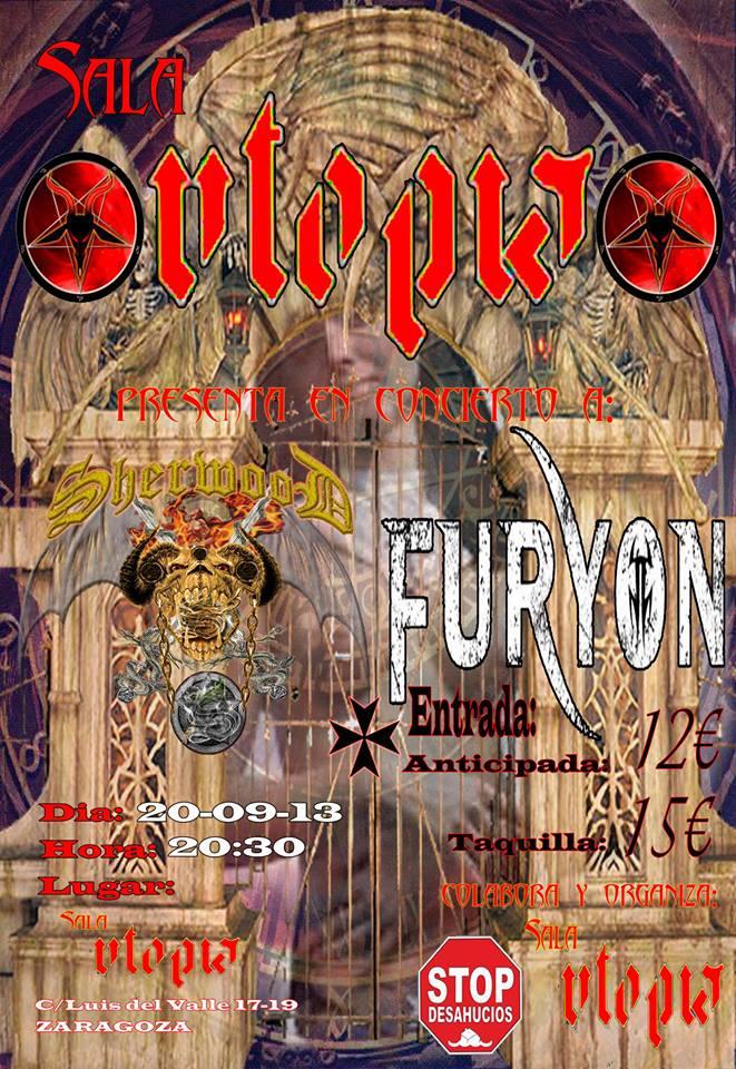 FURYON +SHERWOOD zgz conciertos