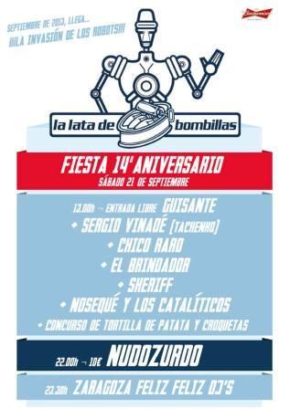 Fiesta 14 aniversario La Lata de Bombillas