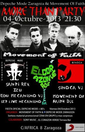 Fiesta Depeche Mode en el Corazon Verde