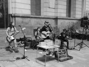 Gaby Morgan y Los Titanes del Rock @ ROCK & BLUES CAFE | Zaragoza | Aragón | España
