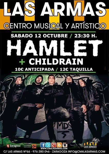 Hamlet + Childrain zgz conciertos