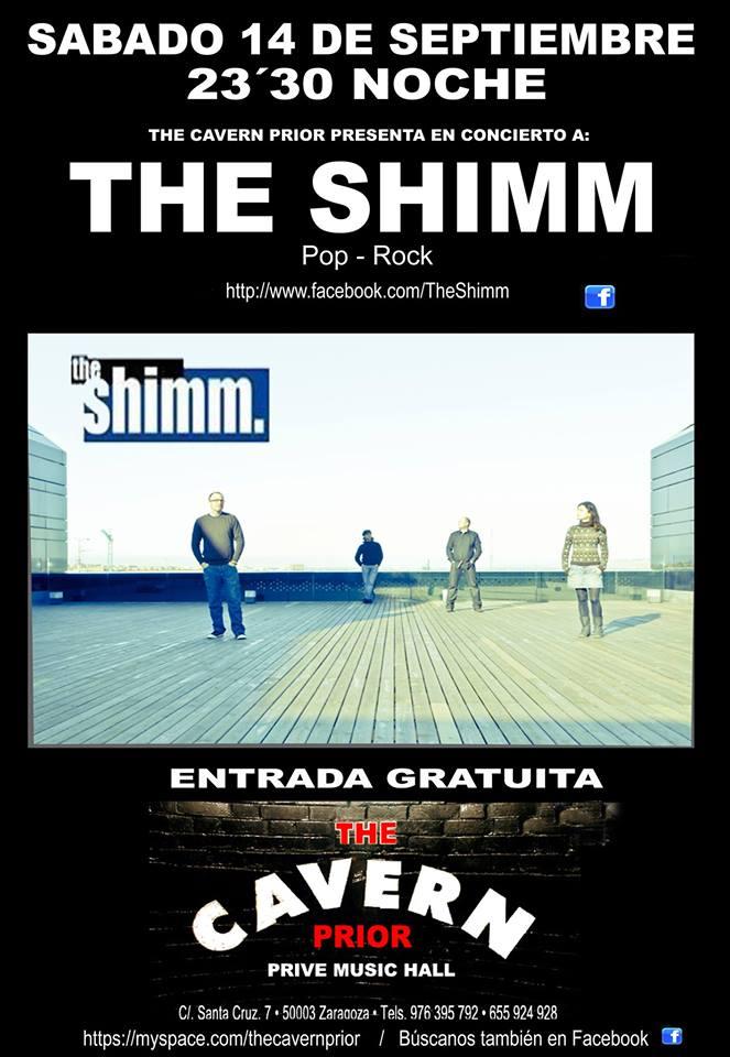 THE SHIMM zgz conciertos