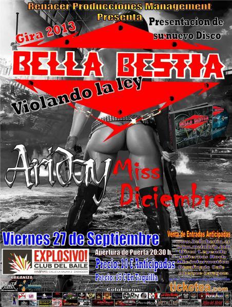 bella_bestia zgz conciertos