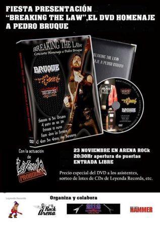 Concierto Leyenda Prohibida en Arena Rock
