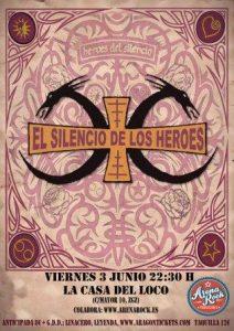 EL SILENCIO DE LOS HÉROES @ LA CASA DEL LOCO | Zaragoza | Aragón | España