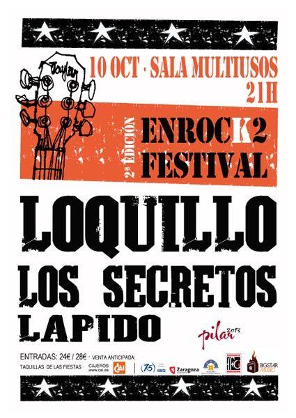 Enrock2 Festival zgz conciertos