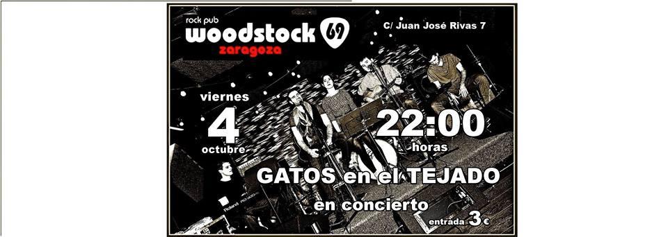 GATOS EN EL TEJADO zgz conciertos