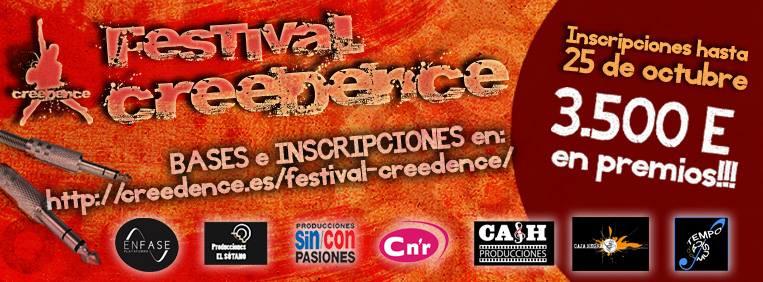 I CONCURSO- FESTIVAL CREEDENCE zgz conciertos