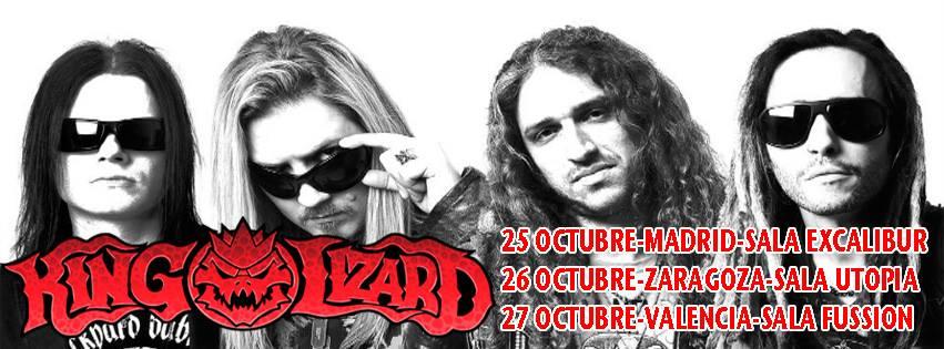 King Lizard zgz conciertos