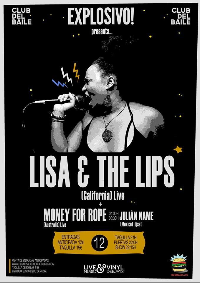 Lisa & The Lips zgz conciertos