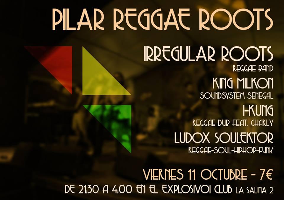 Pilar Reggae Roots zgz conciertos