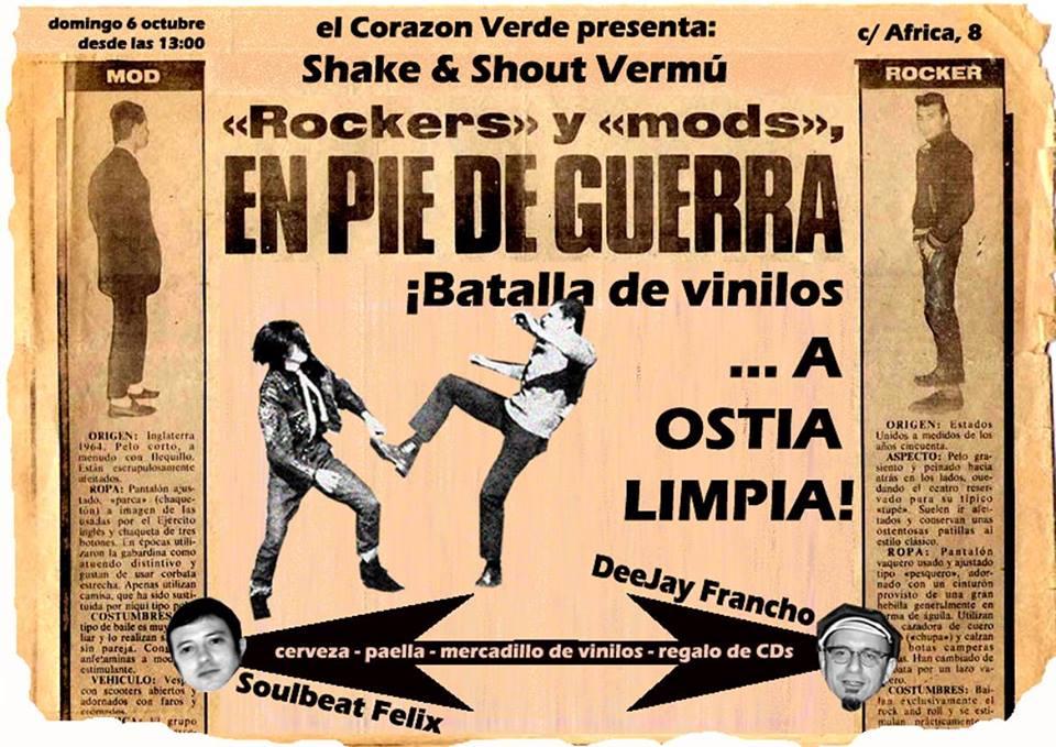 Shake & Shout Vermú zgz cocniertos