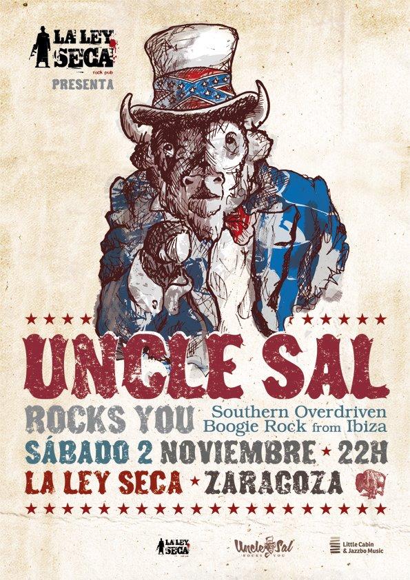 Uncle Sal zgz conciertos