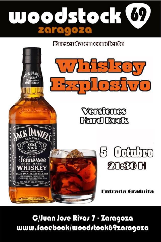 Whiskey Explosivo zgz conciertos