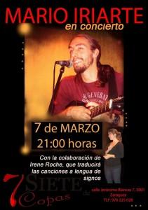MARIO IRIARTE E IRENE ROCHE @ 7 de Copas | Zaragoza | Aragón | España