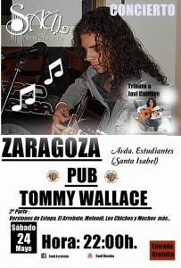 SAUL @ Tommy Wallace | Zaragoza | Aragón | España