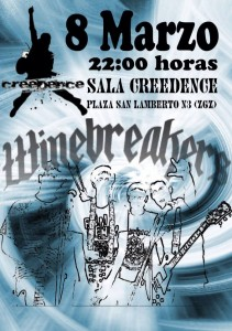 WINEBREAKERS @ Sala Creedence | Zaragoza | Aragón | España