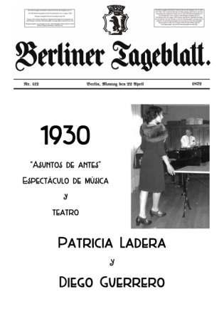 1930 Asuntos de antes Joaquin Roncal