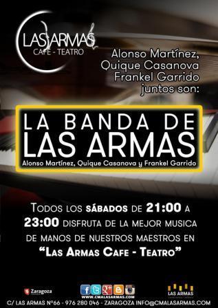 ALONSO MARTÍNEZ, QUIQUE CASANOVA Y FRANKEL GARRIDO