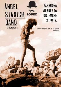 ÁNGEL STANICH @ SALA LOPEZ | Zaragoza | España