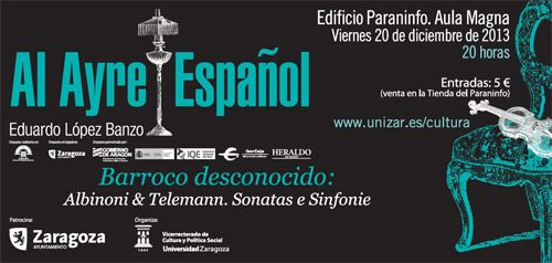 Al Ayre Español zgz conciertos