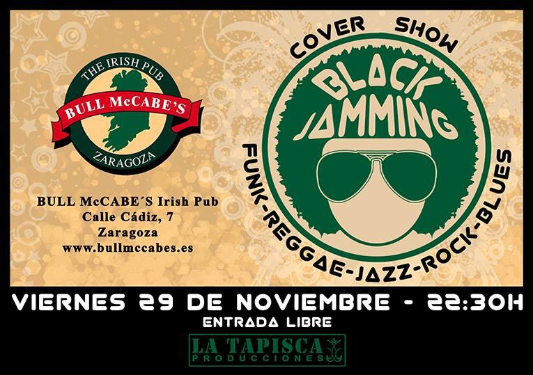 BLACK JAMMING zgz conciertos