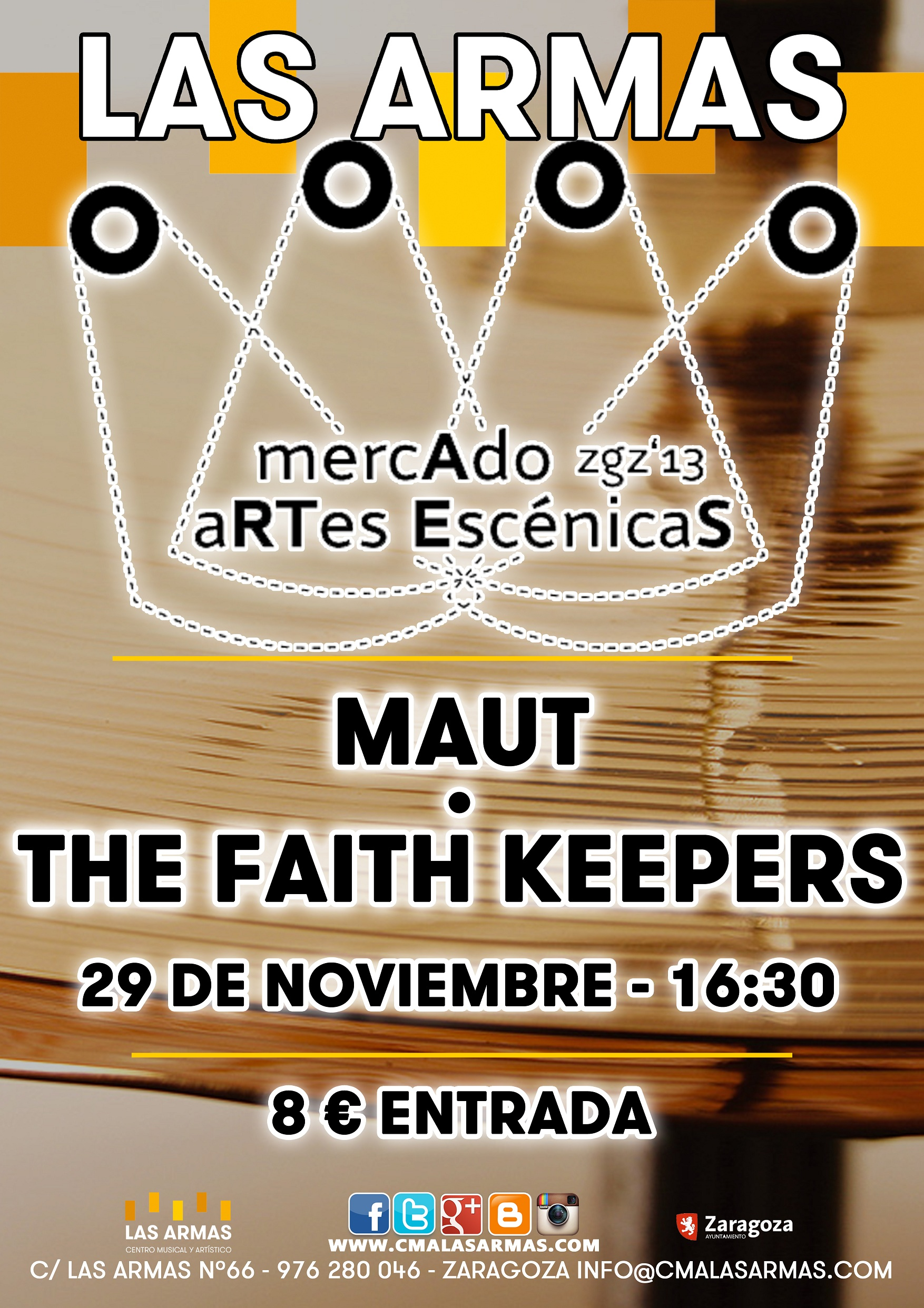 CARTEL MAUT + THE FAITH KEEPERS zgz conciertos