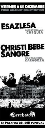 Concierto Esazlesa + Christi Bebe Sangre Sala Arrebato