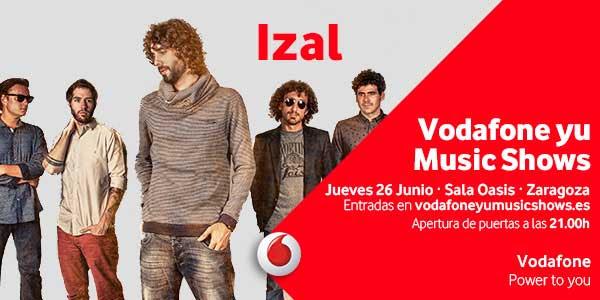 Concierto Izal Zaragoza