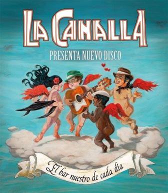 Concierto La Canalla en pub el Zorro Zaragoza