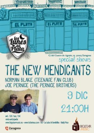 Concierto The New Mendicants en El Plata